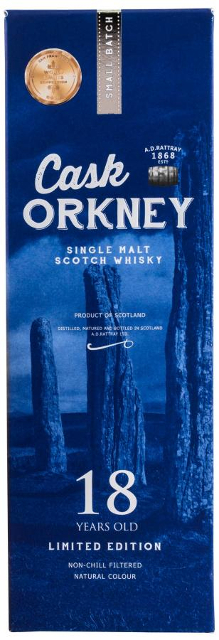 Cask Orkney 18-year-old DR