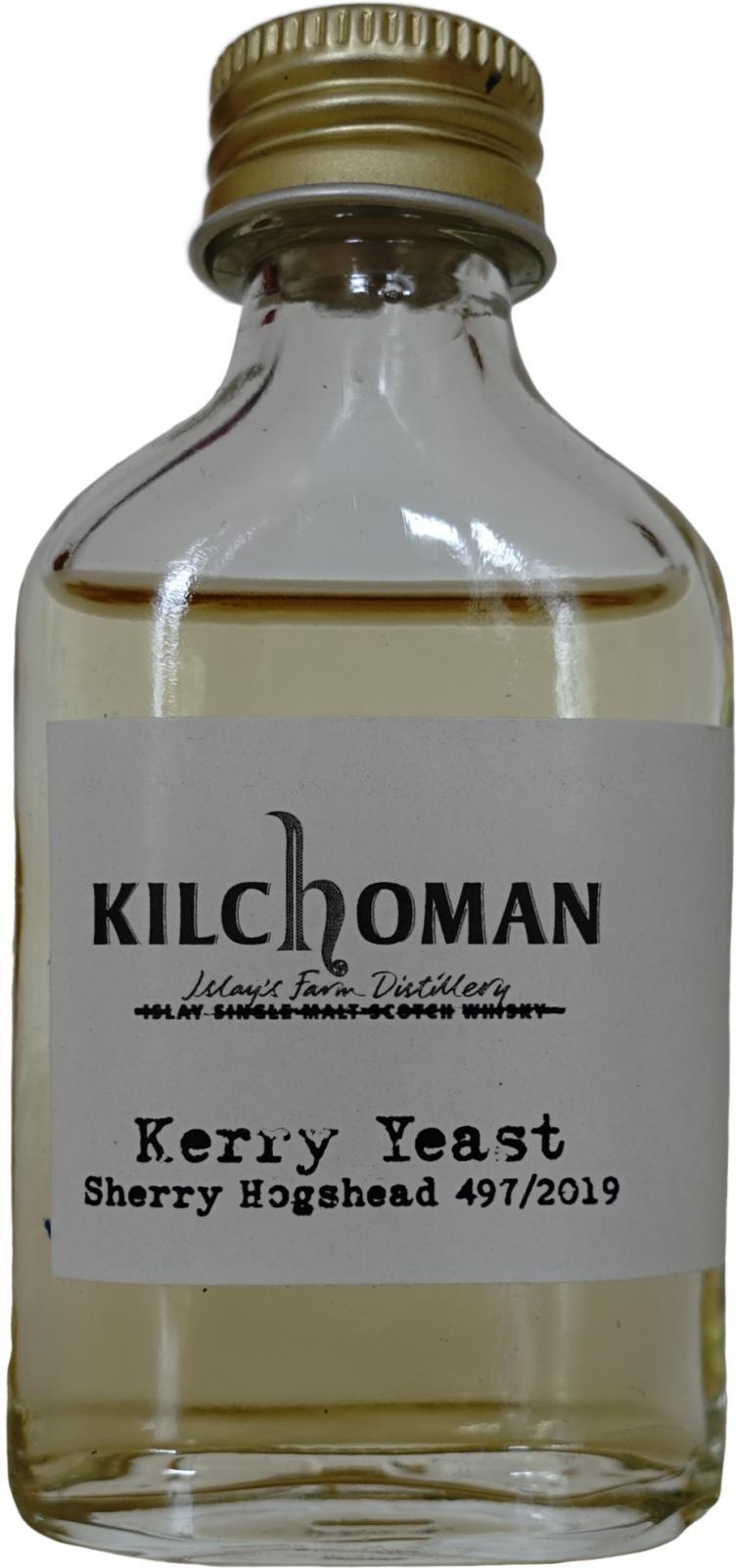 Kilchoman 2019 - Kerry Yeast