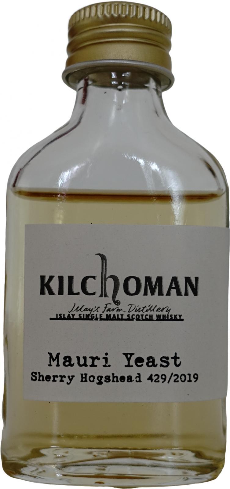 Kilchoman 2019 - Mauri Yeast
