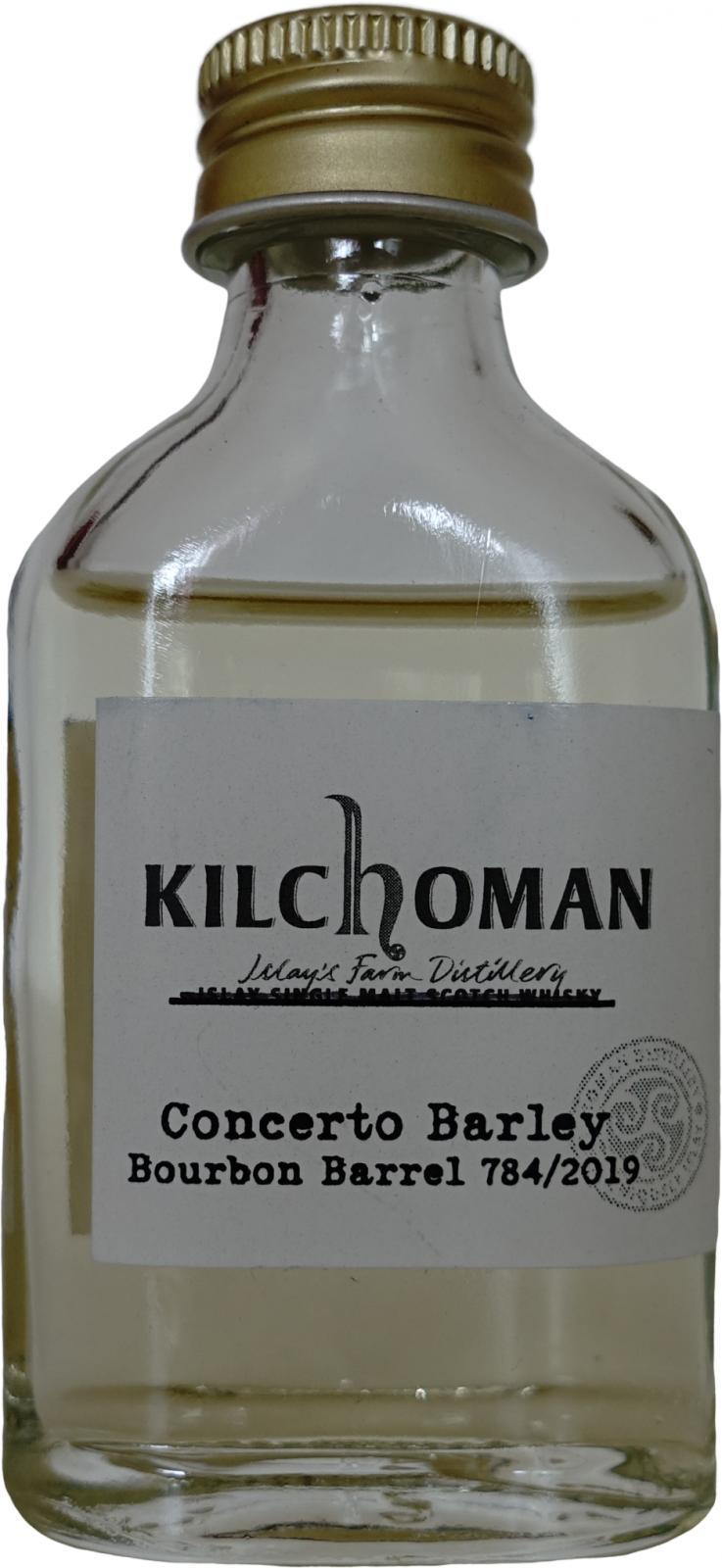Kilchoman 2019 - Concerto Barley