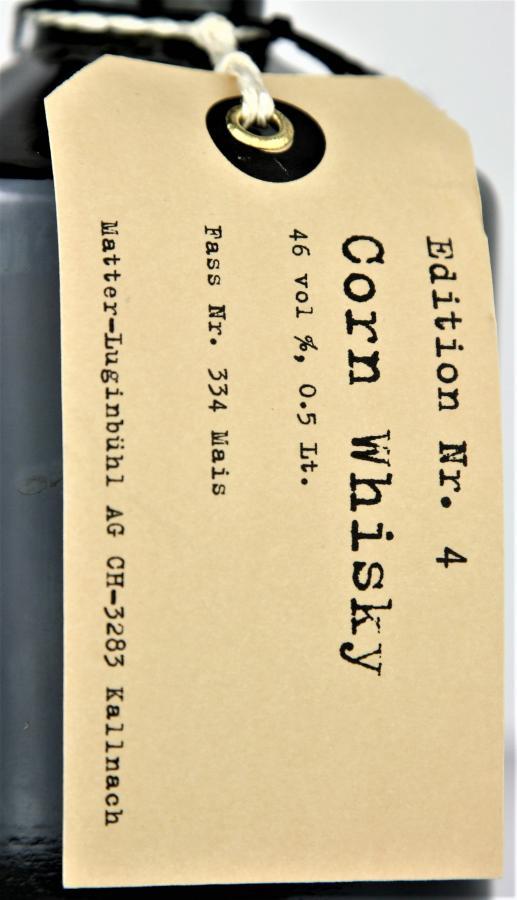 Matter Spirits Corn Whisky Nr. 4