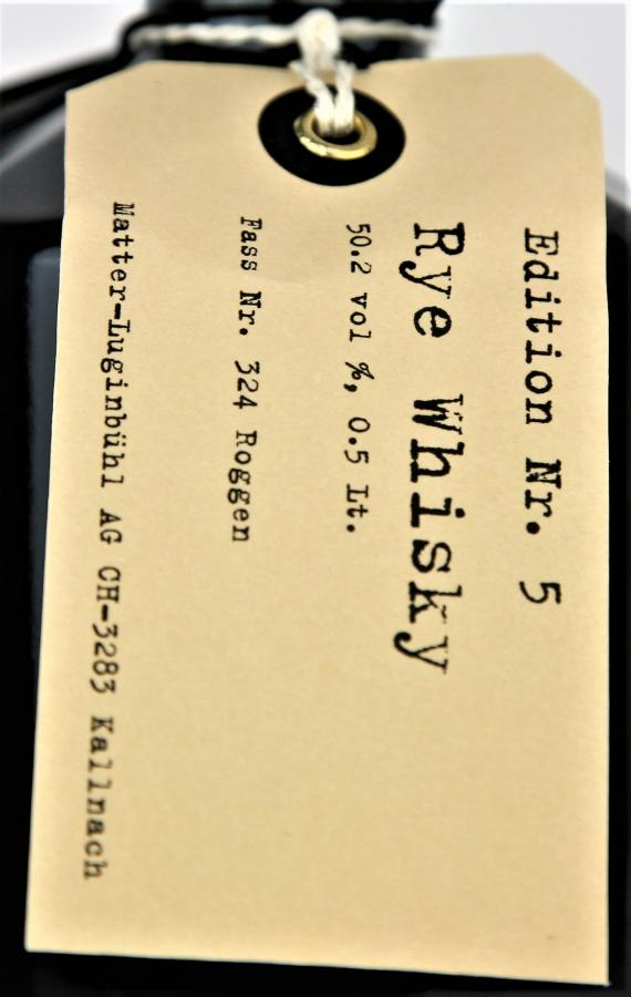 Matter Spirits Rye Whisky Nr. 5