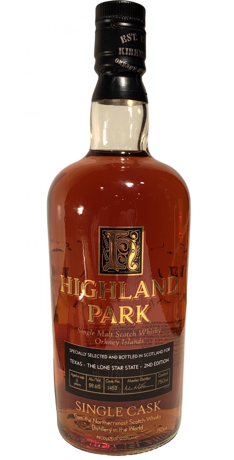 Highland Park 11-year-old Single Cask