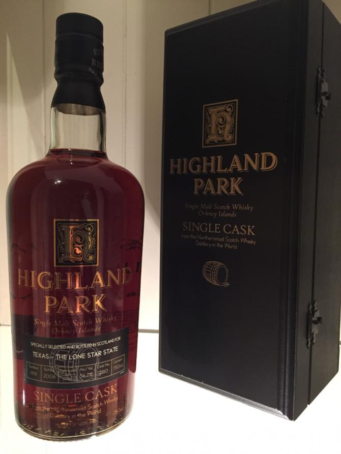 Highland Park 1991 Single Cask