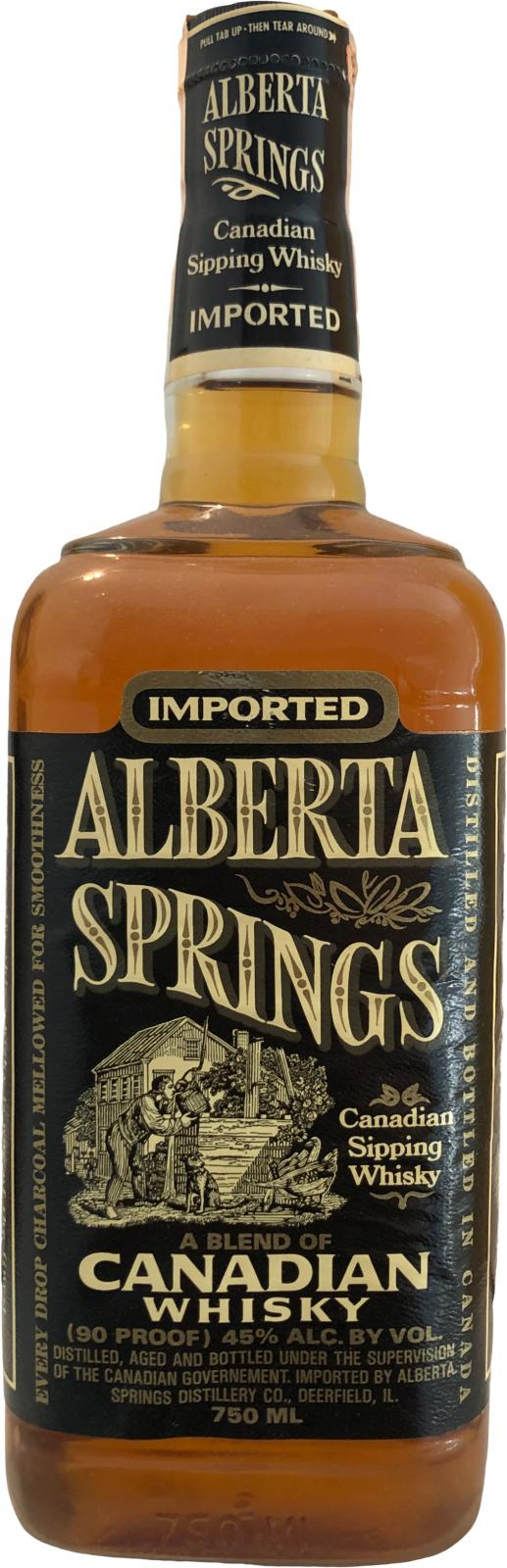 Alberta Springs Canadian Sipping Whisky