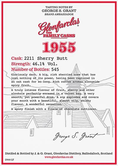Glenfarclas 1955