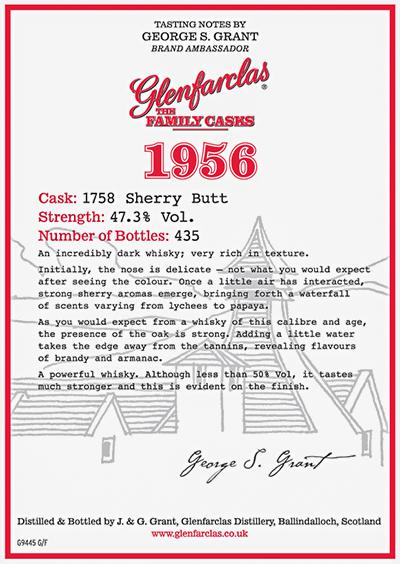 Glenfarclas 1956