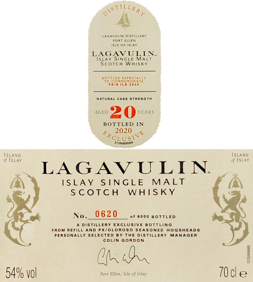 Lagavulin 20-year-old