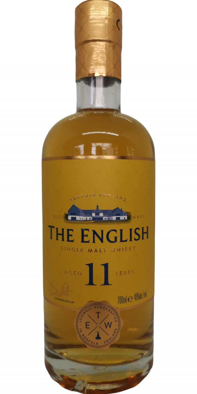 The English Whisky 11-year-old