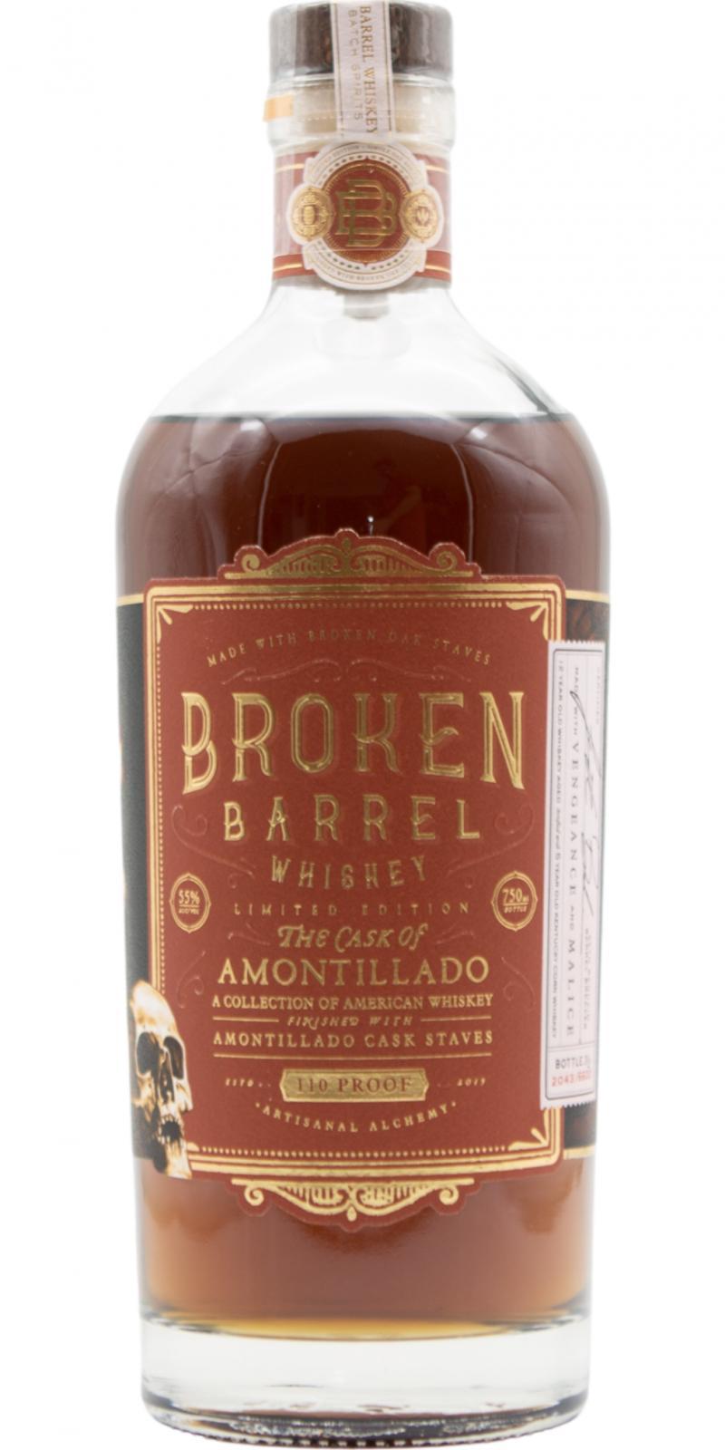 Broken Barrel The Cask of Amontillado