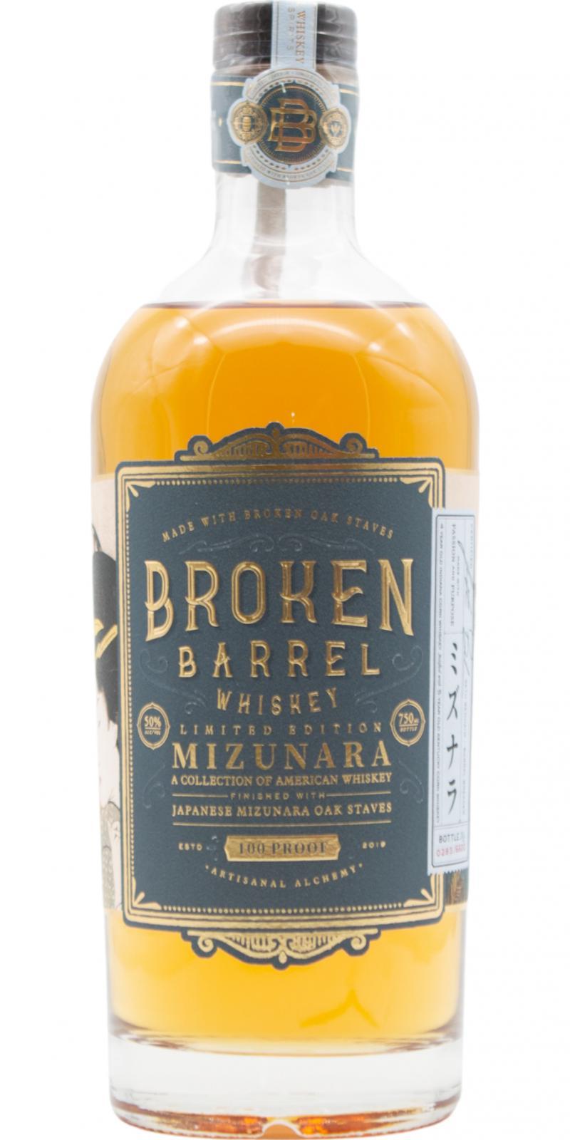 Broken Barrel Mizunara Finish