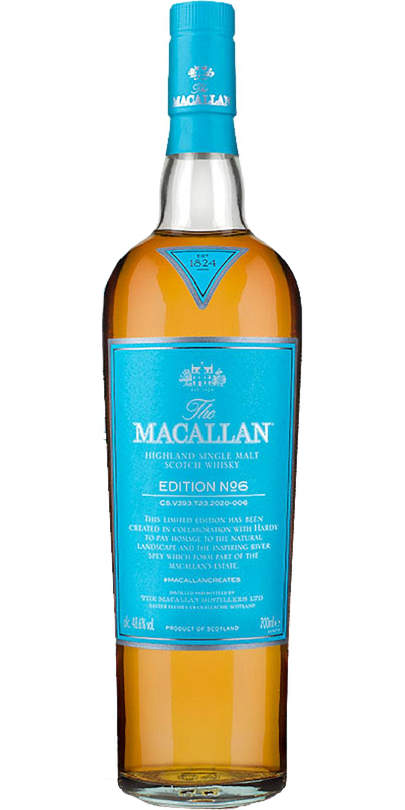 Macallan Edition No. 6