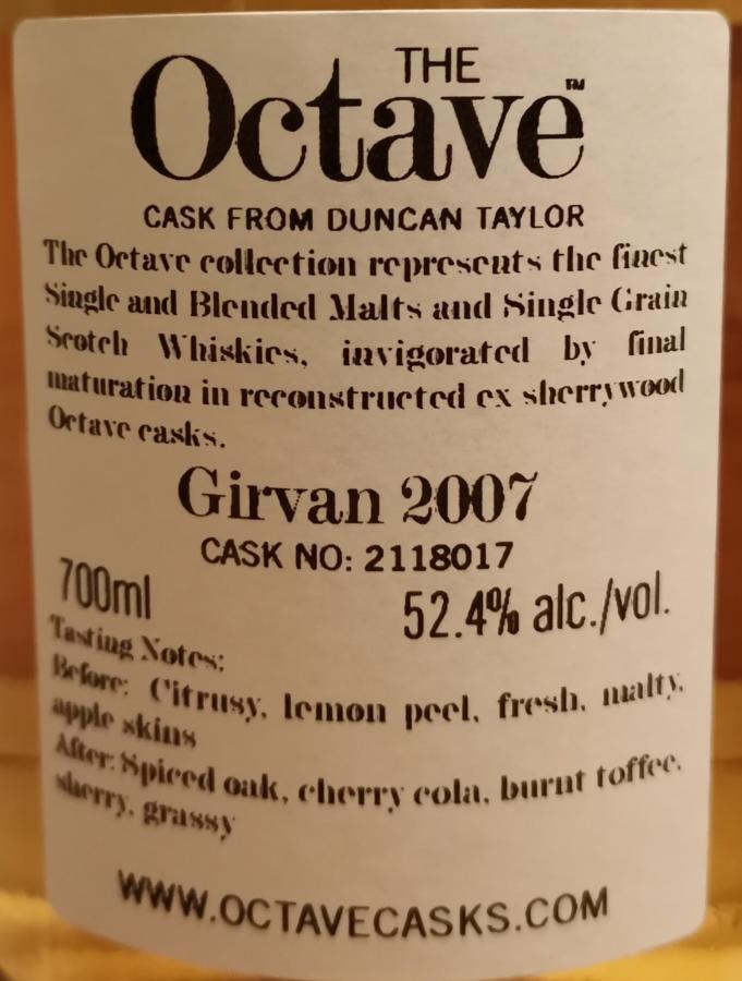 Girvan 2007 DT