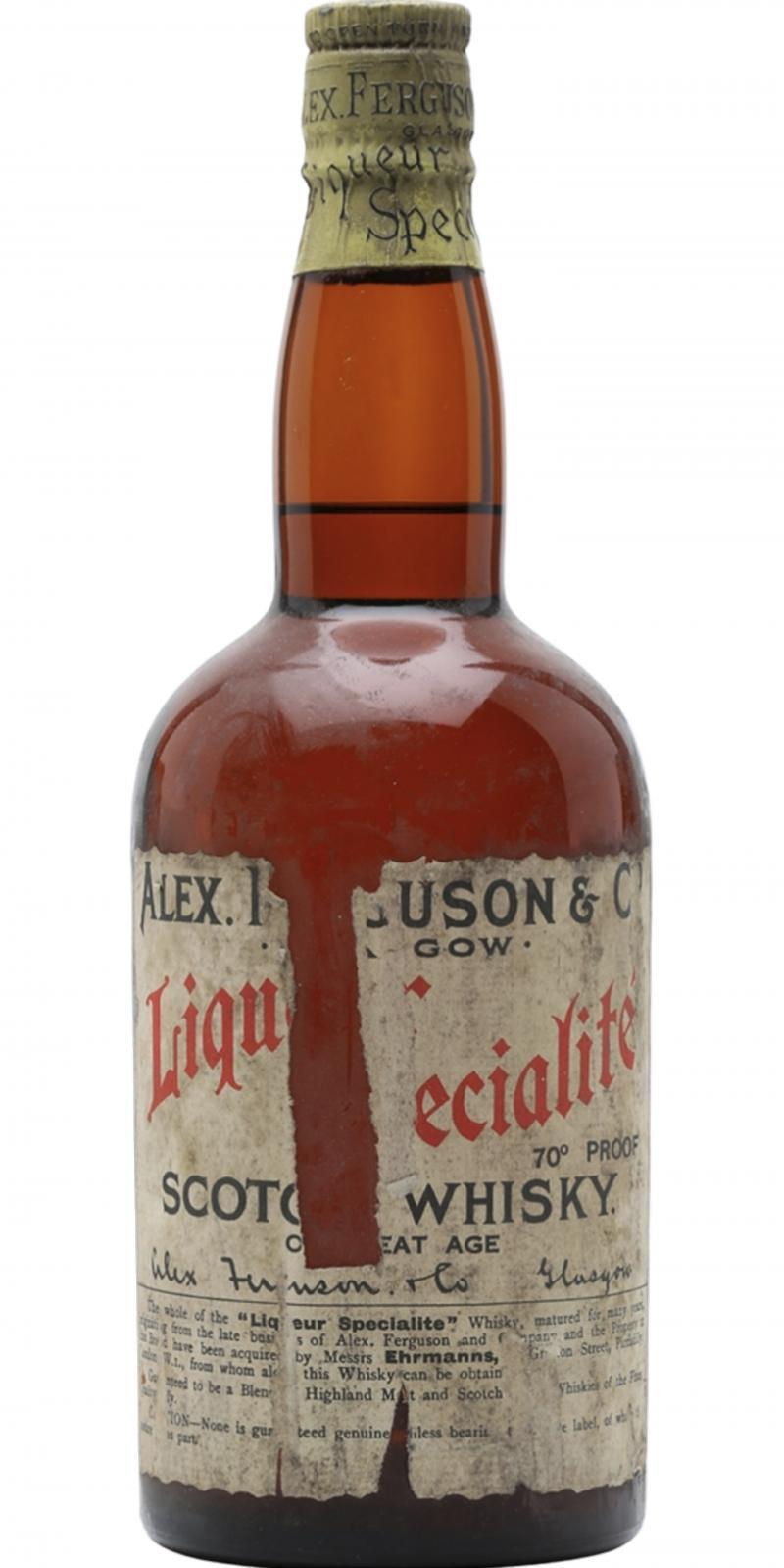 Alex Ferguson & Co. Scotch Whisky