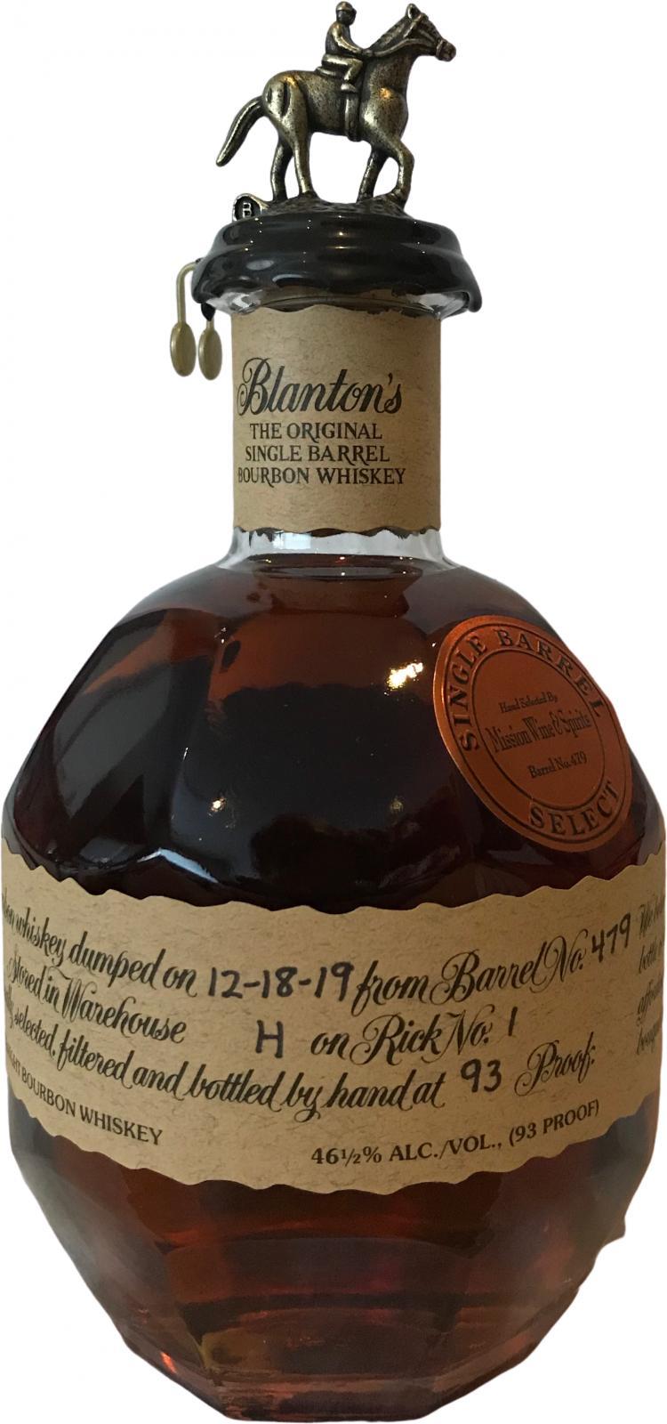 Blanton's Single Barrel Select
