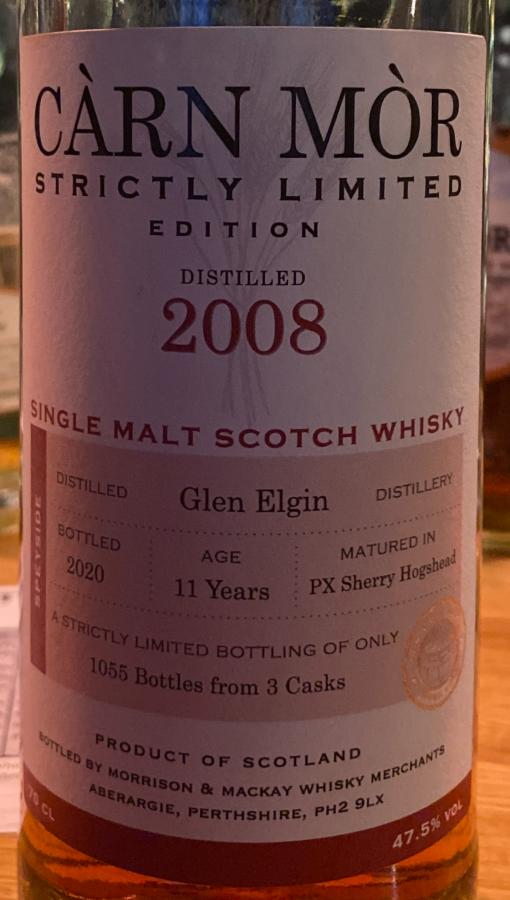 Glen Elgin 2008 MMcK