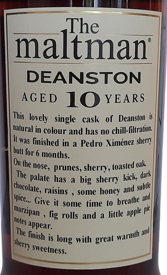 Deanston 2009 MBl