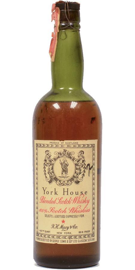 York House Blended Scotch Whisky