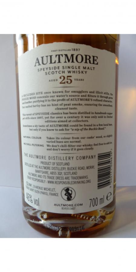 Aultmore 25-year-old