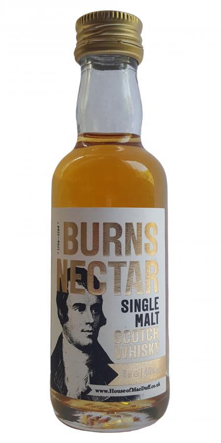 Burns Nectar Single Malt Scotch Whisky HMcD