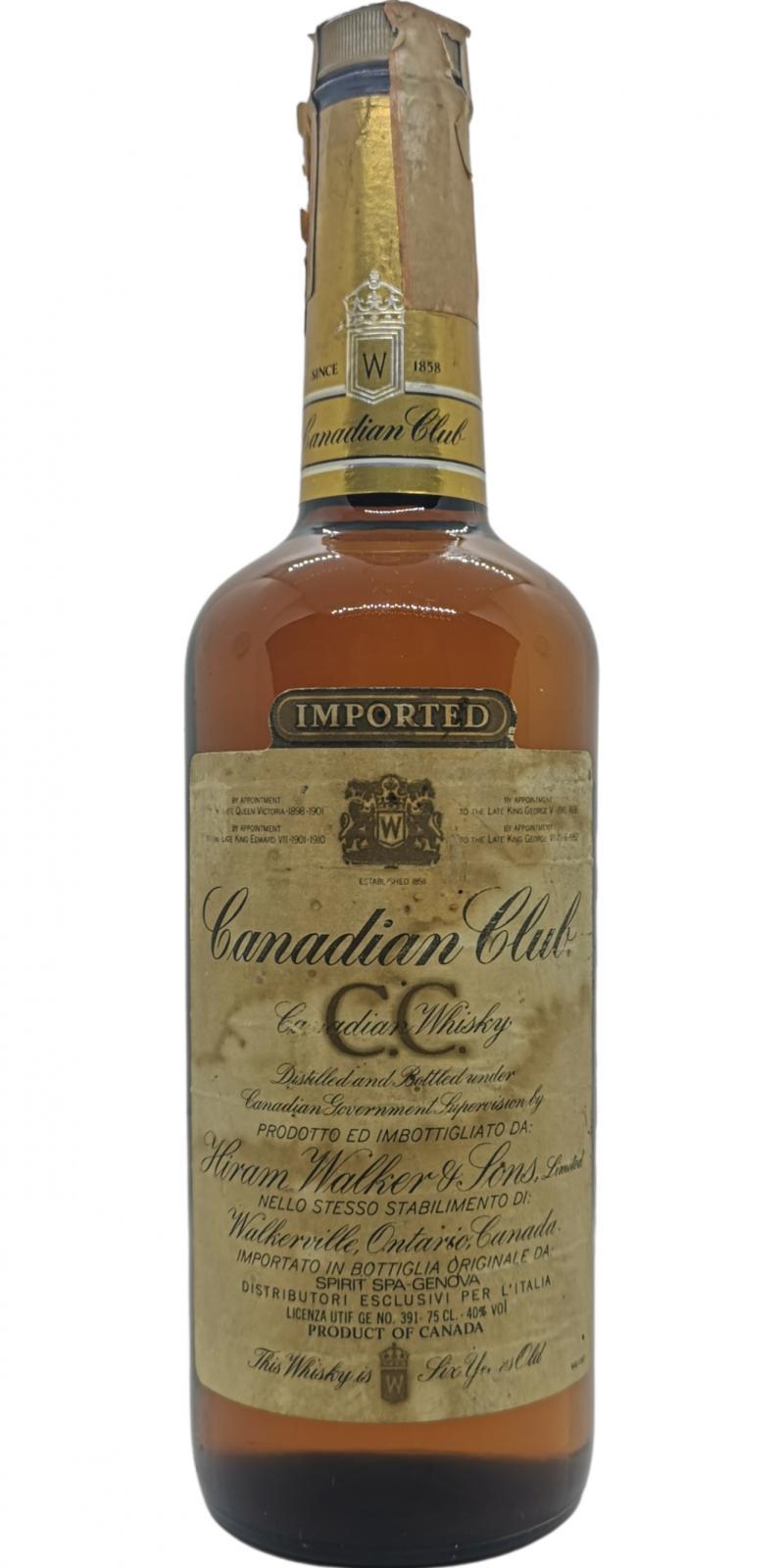 Canadian Club 1985