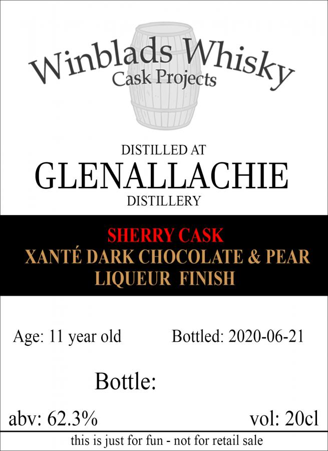 Glenallachie 11-year-old WWCP