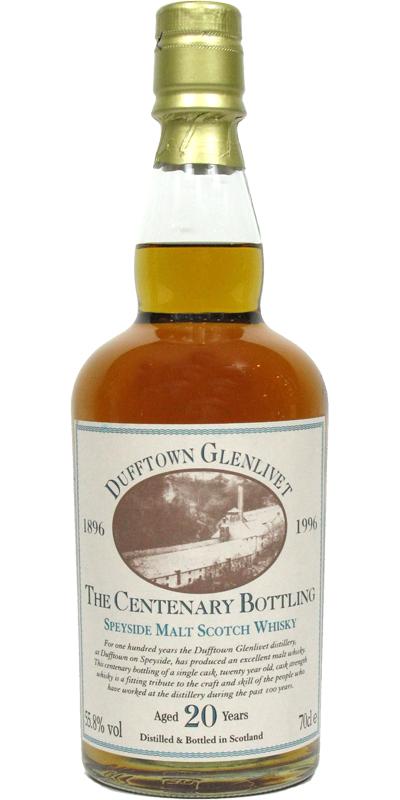 Dufftown The Centenary Bottling