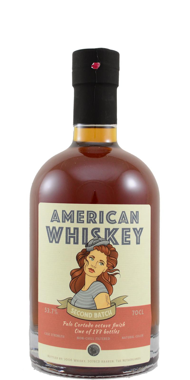 American Whiskey 2nd Batch 3W