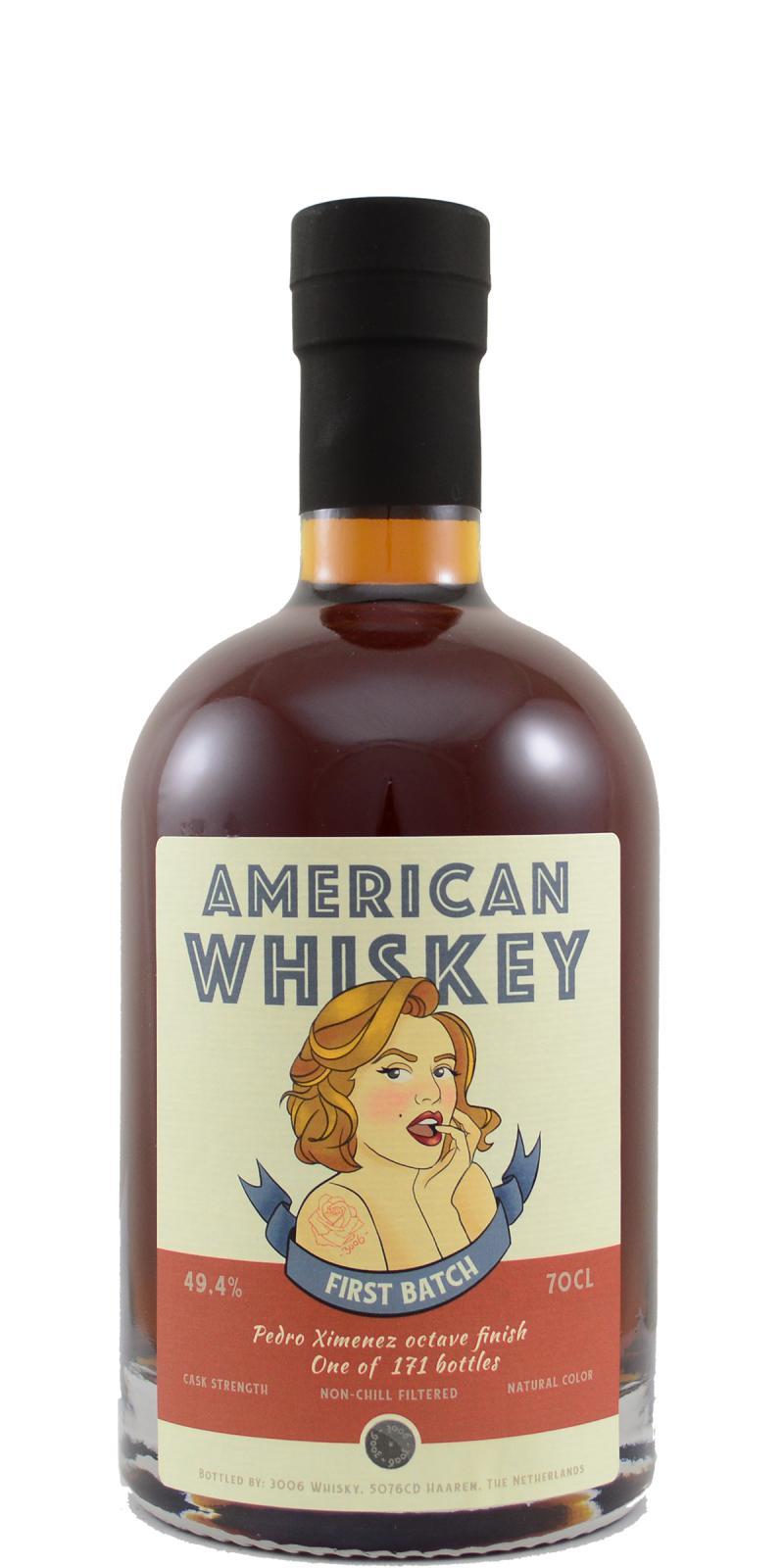 American Whiskey 1st Batch 3W