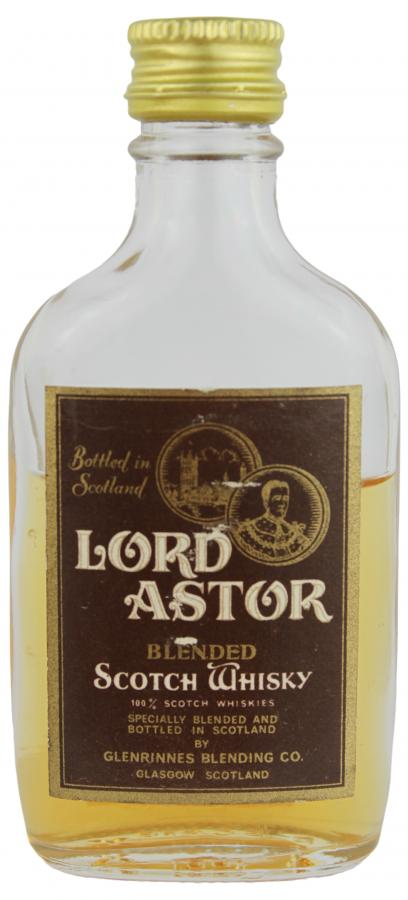 Lord Astor Blended Scotch Whisky