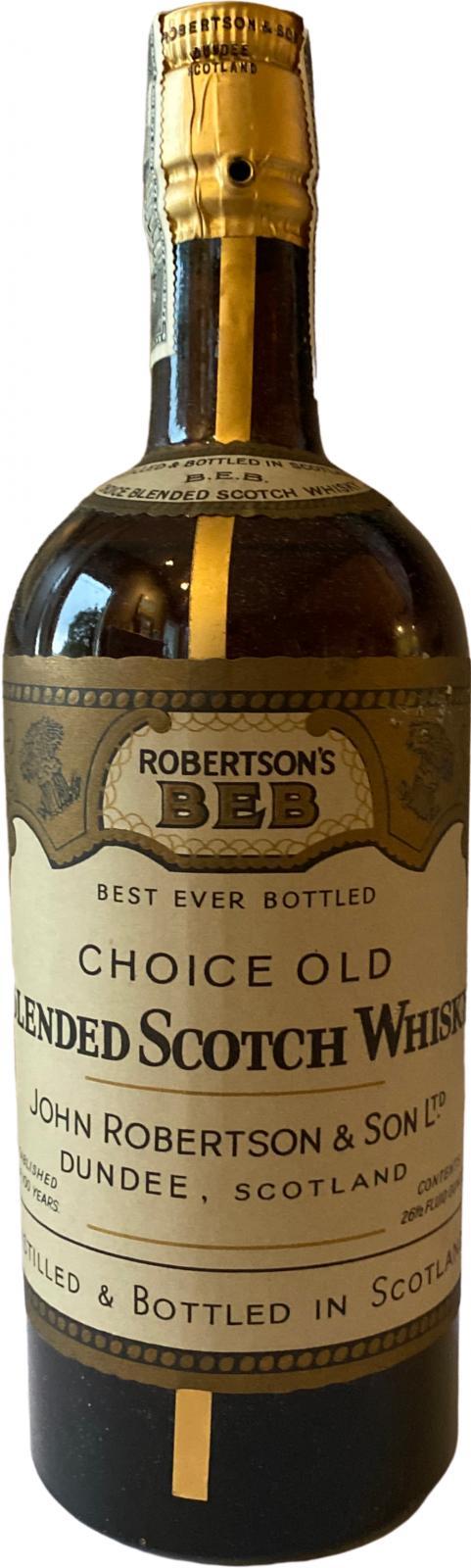 Robertson's Best Ever Bottled
