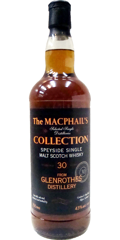 Glenrothes 30-year-old GM