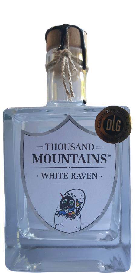 Thousand Mountains White Raven