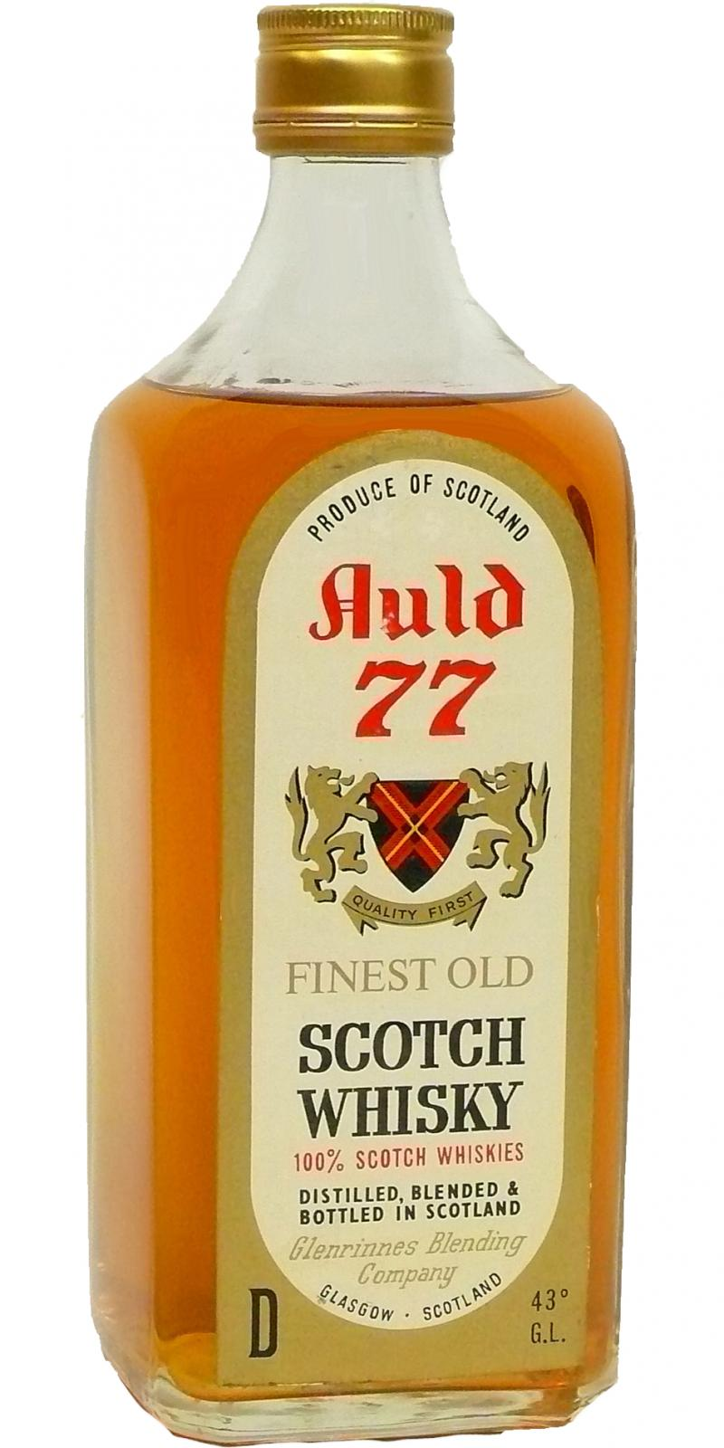 Auld 77 Finest Old Scotch Whisky