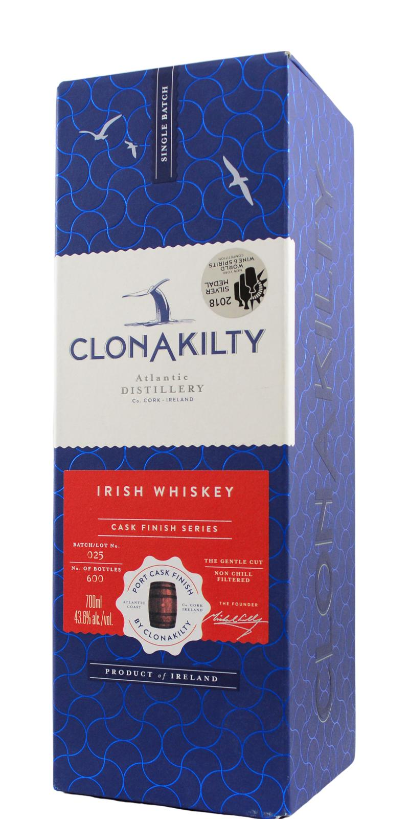Clonakilty Port Cask Finish