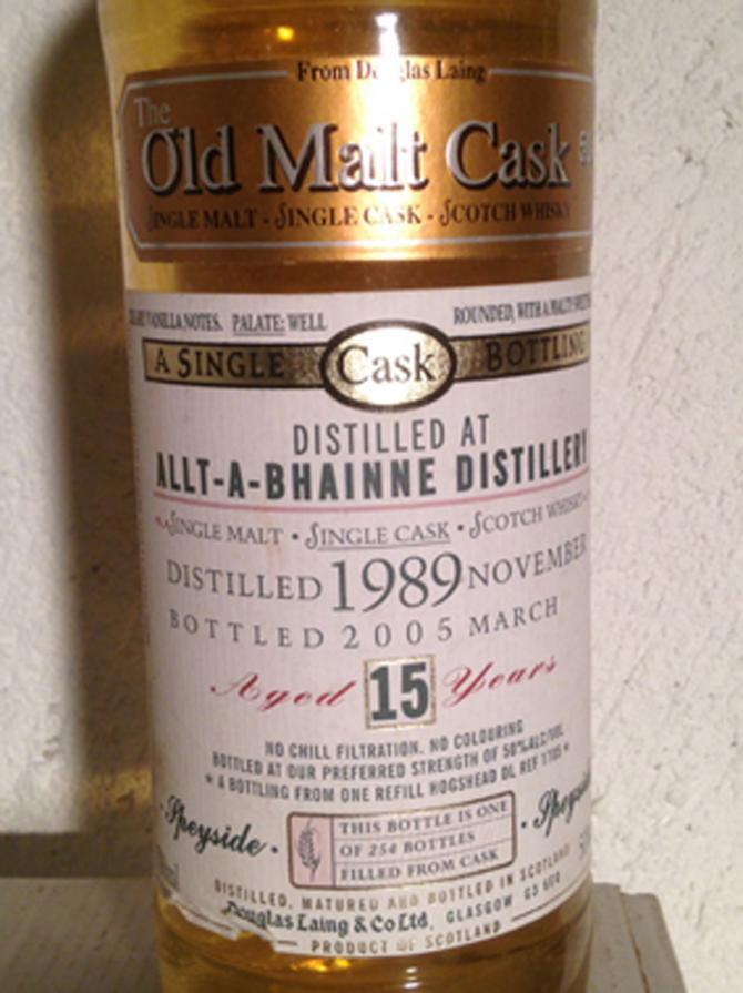 Allt-a-Bhainne 1989 DL