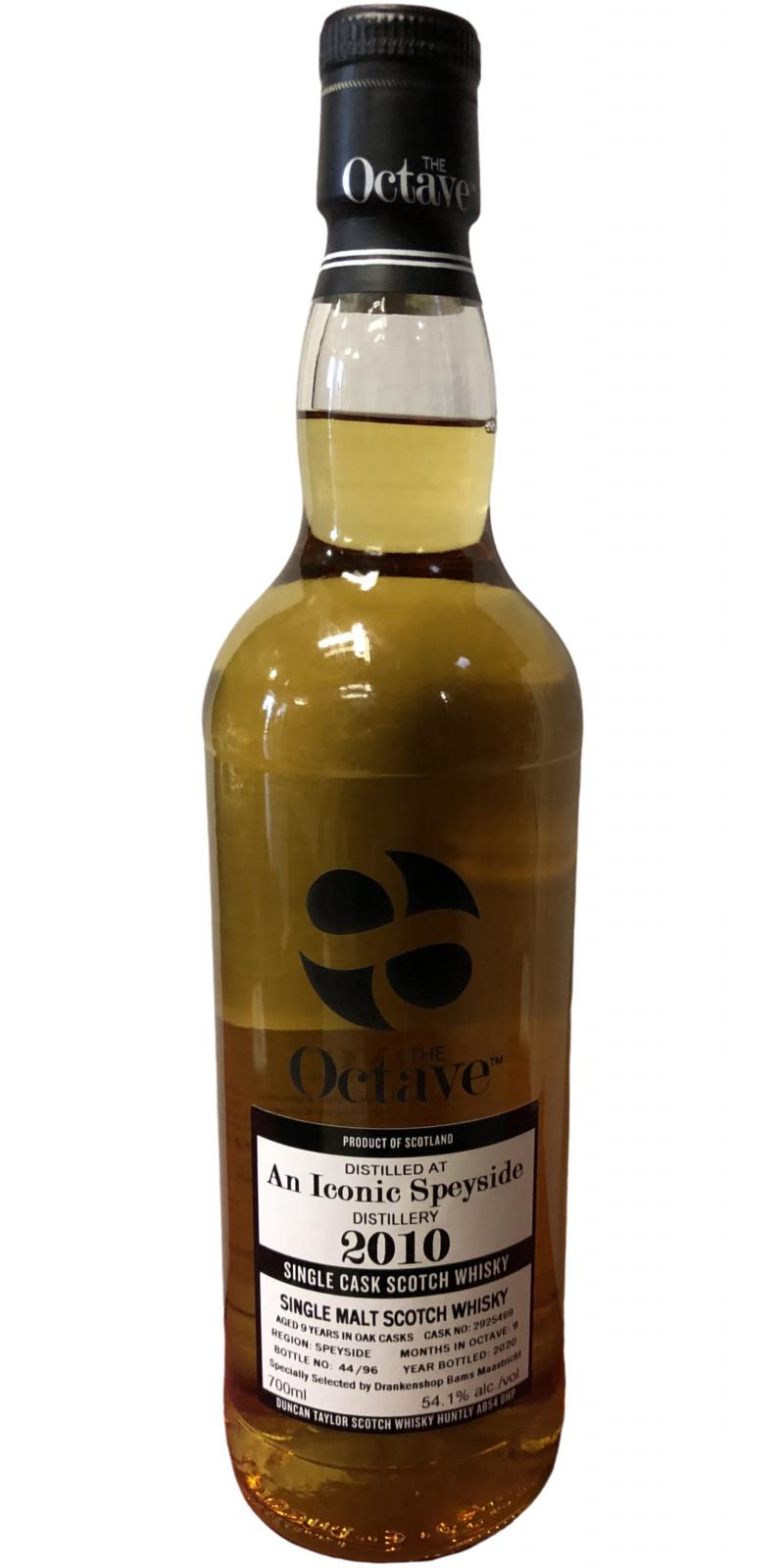 An Iconic Speyside 2010 DT