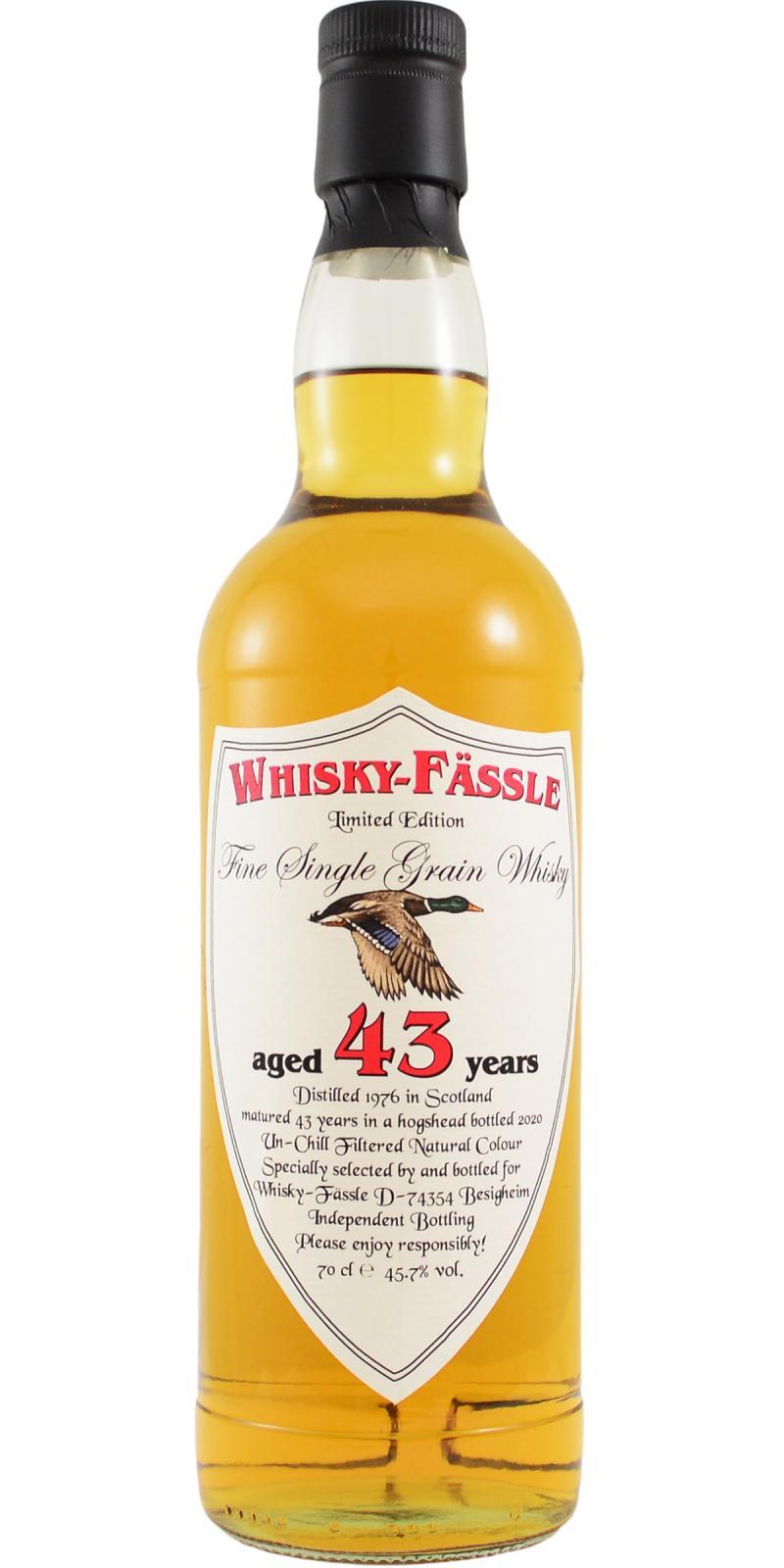 Fine Single Grain Whisky 1976 W-F