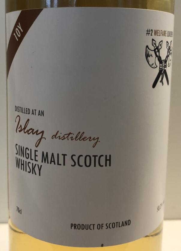 An Islay Distillery 2010 WhB