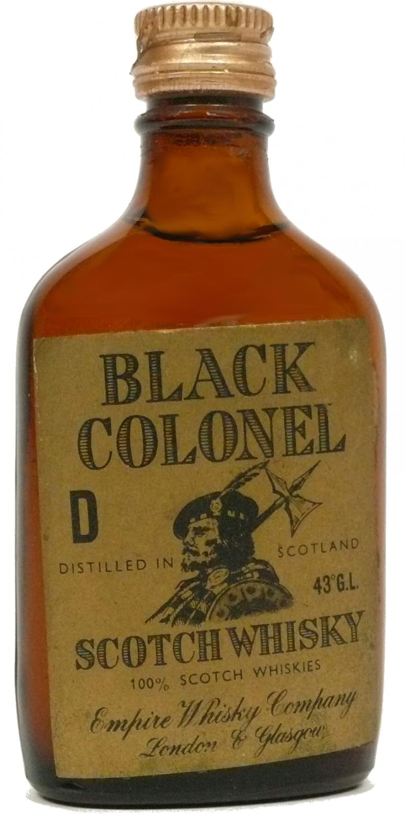 Black Colonel Scotch Whisky