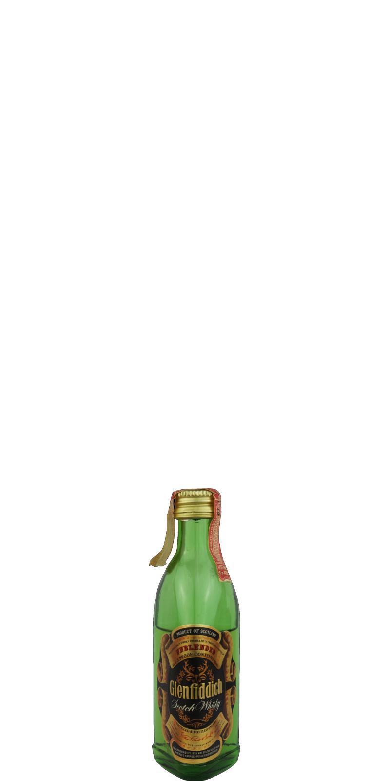 Glenfiddich Unblended Scotch Whisky