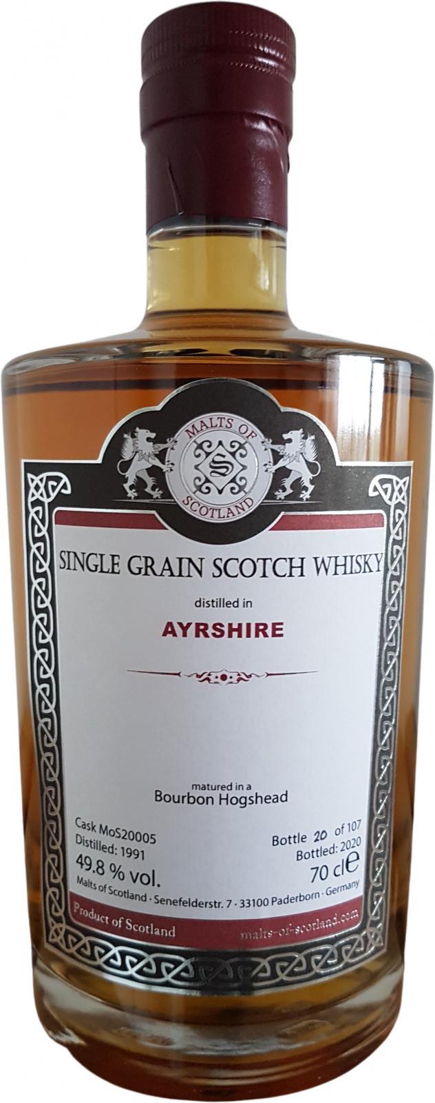 Ayrshire 1991 MoS