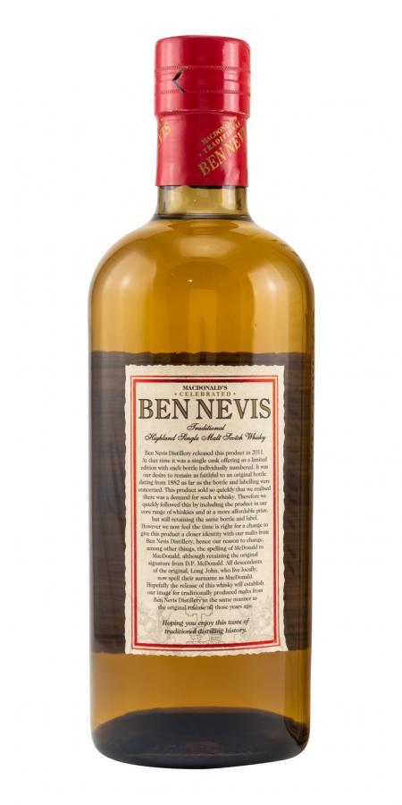 Ben Nevis MacDonald's Traditional