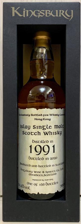 Islay Single Malt Scotch Whisky 1991 Kb