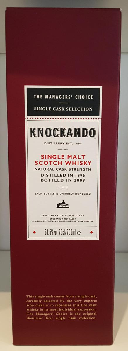 Knockando 1996