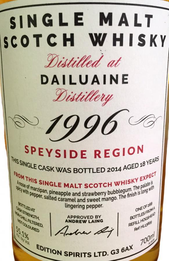 Dailuaine 1996 ED