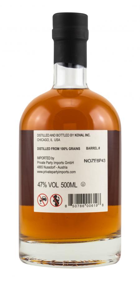 Koval Single Barrel - Bourbon