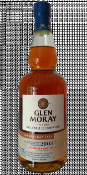 Glen Moray 2003 Chardonnay Cask