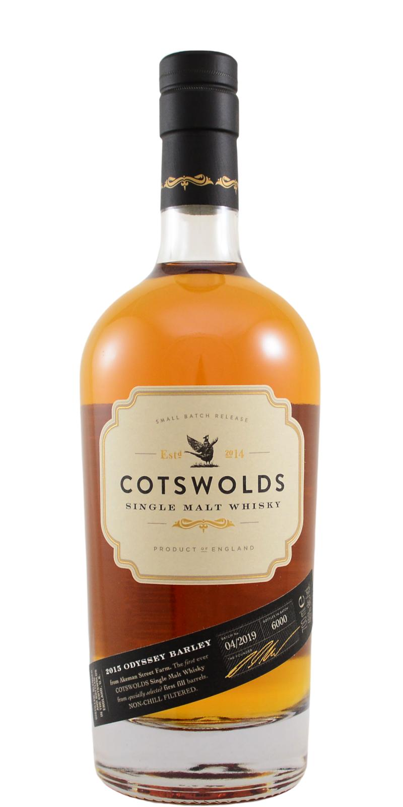 Cotswolds Distillery 2015