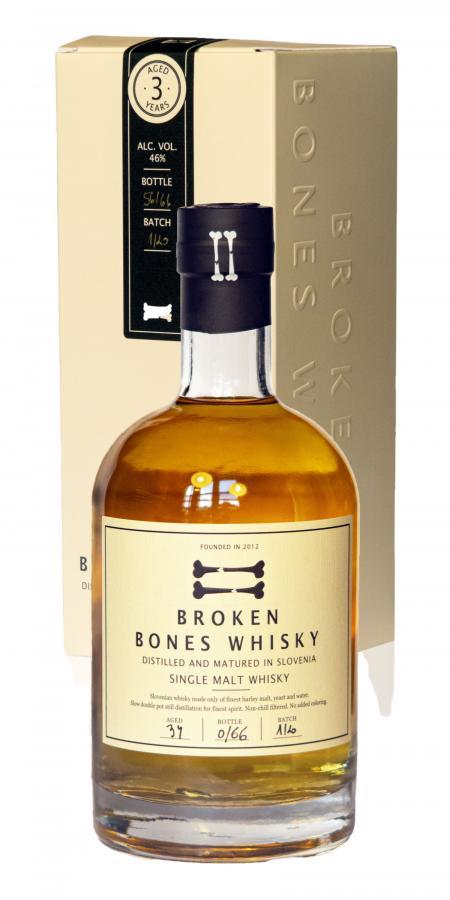 Broken Bones Whisky 03-year-old